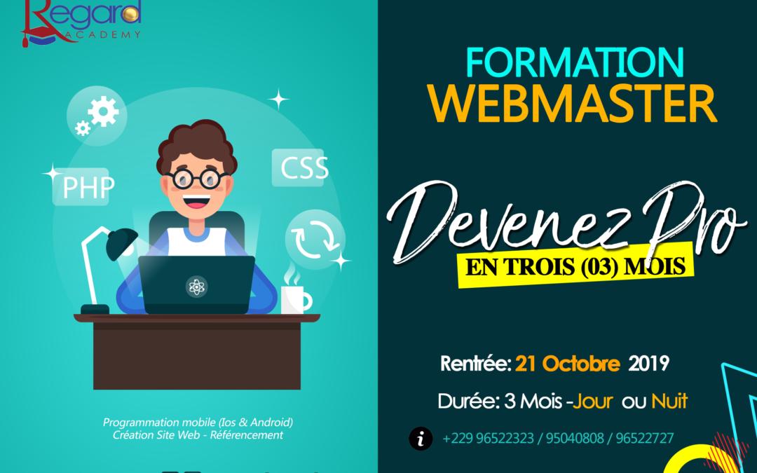 Formation Webmaster
